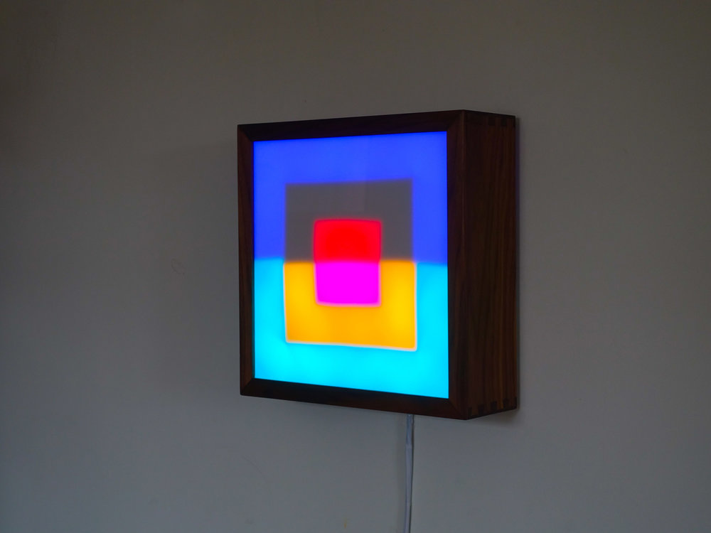 Copy of Square LED Lightbox prototype 3 of 5