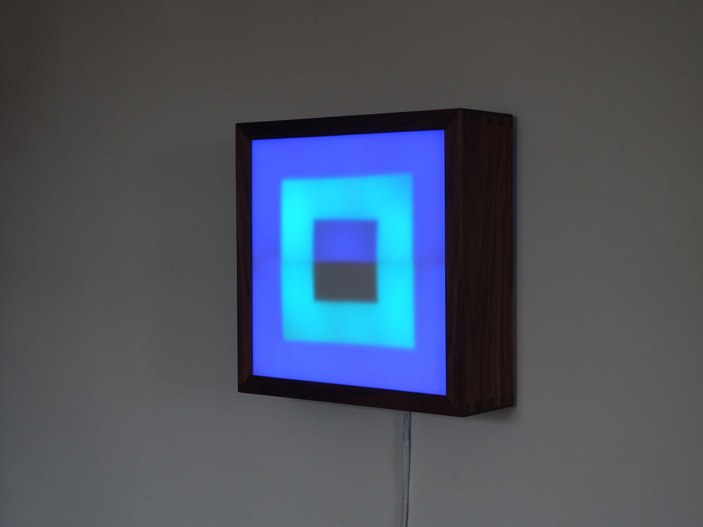 Copy of Square LED Lightbox prototype 4 of 5