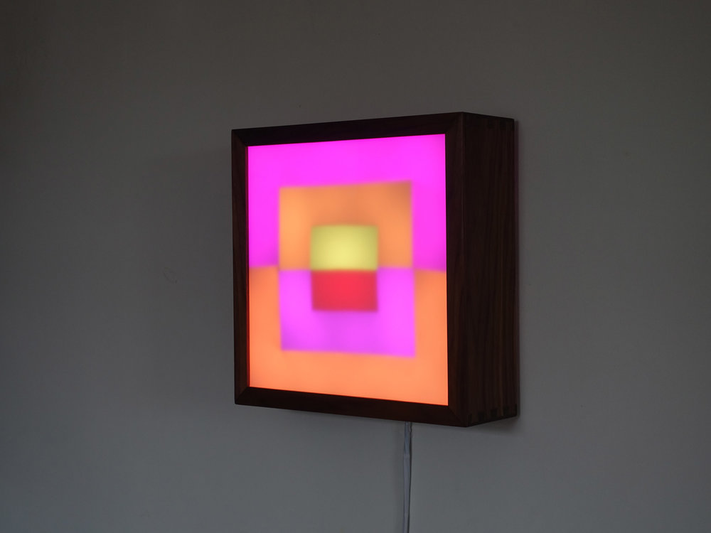 Copy of Square LED Lightbox prototype 5 of 5