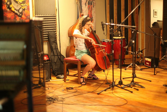 Erin Martinez, cello. Credit: Flint Hill Fellowship