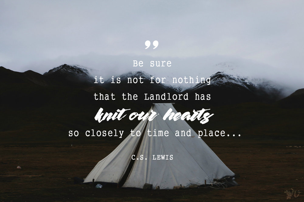 always love a good CS Lewis quote.