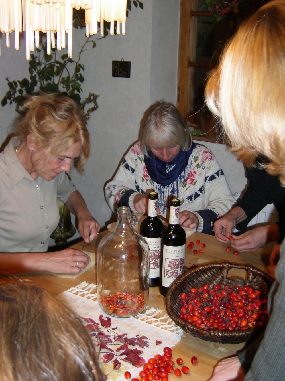 Heilwein-Herstellung
