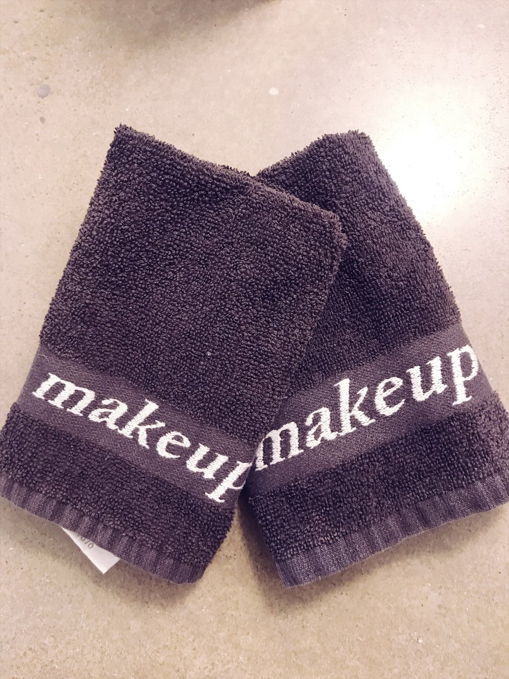 Lokal Hotel Makeup Washcloths - Photo by Nicole Fichera
