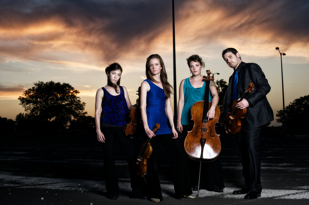 Quartet and Sky,  Nathan Russel Photography,  Spring 2012      CLICK for     PERFORMANCE GALLERY
