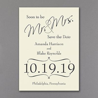 Big Announcement -Save the Date - $102.90 per 100