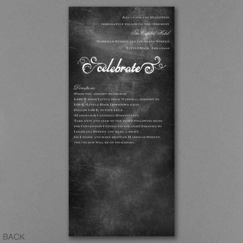 Chalkboard Charm - Back