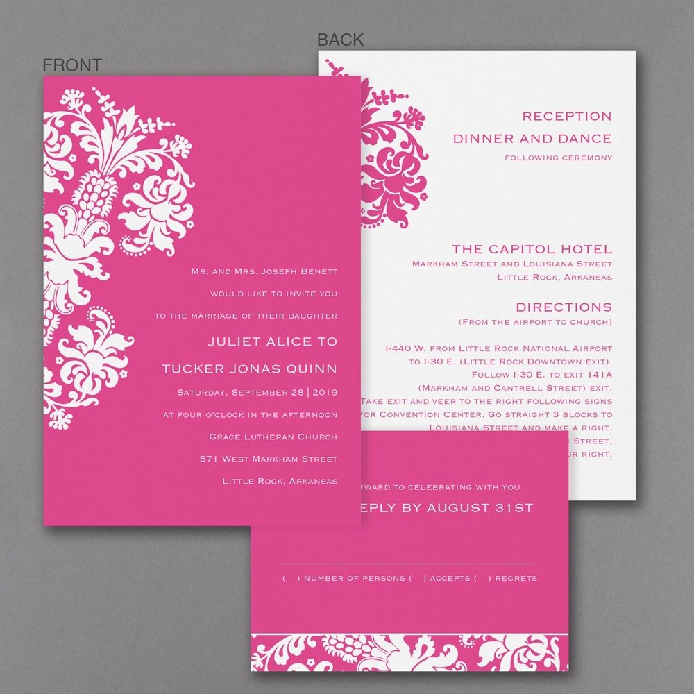 Splendid Damask - Set