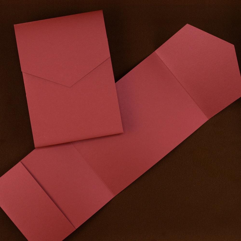 Classic Pocket - Claret Shimmer