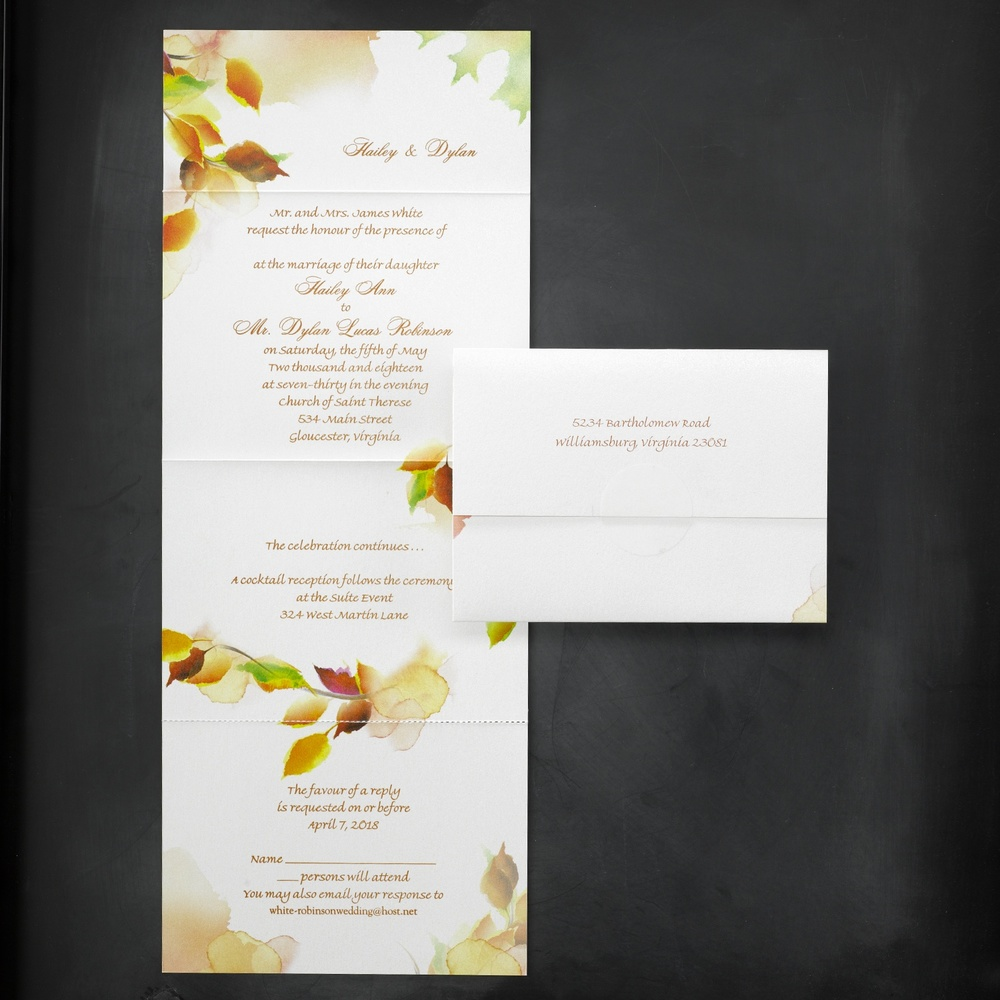 Leaf Swirl - Seal 'n Send