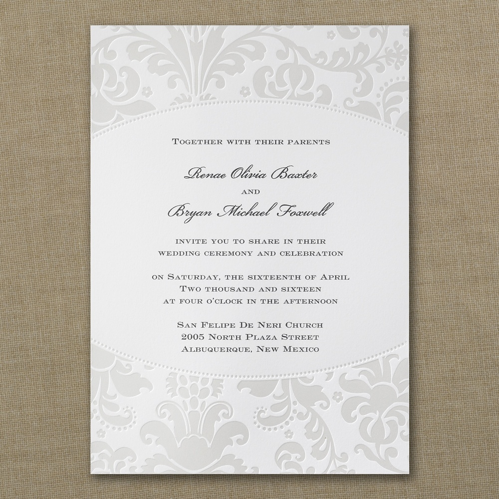 Pearlized Filigree Border