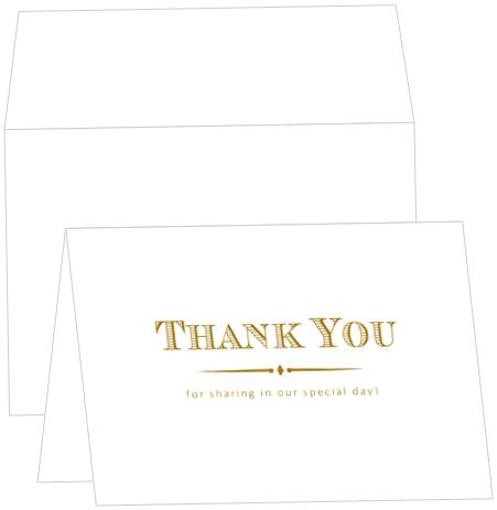 Thank You Note Card - C