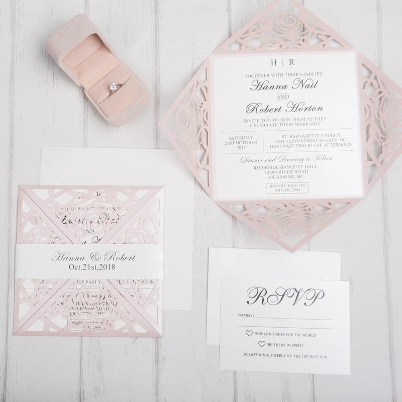 Glamorous Blush Rose - Blush Shimmer