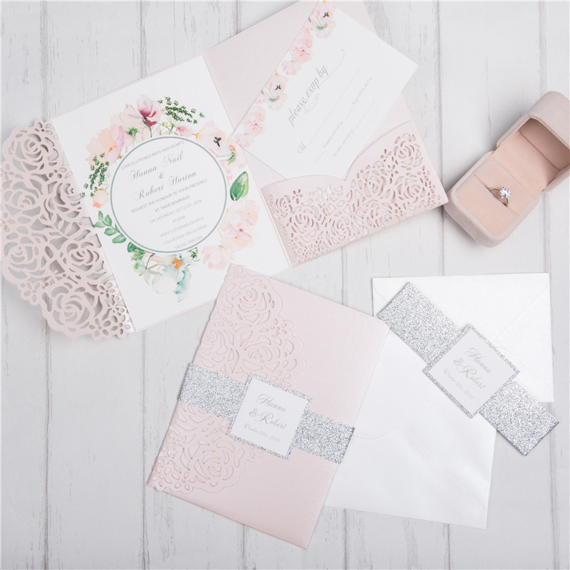 Rose Tri - Fold - Blush Shimmer