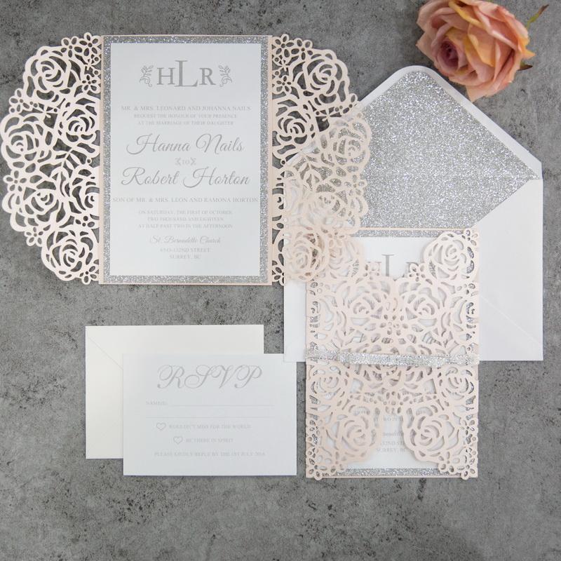 Rose Design - Blush Shimmer