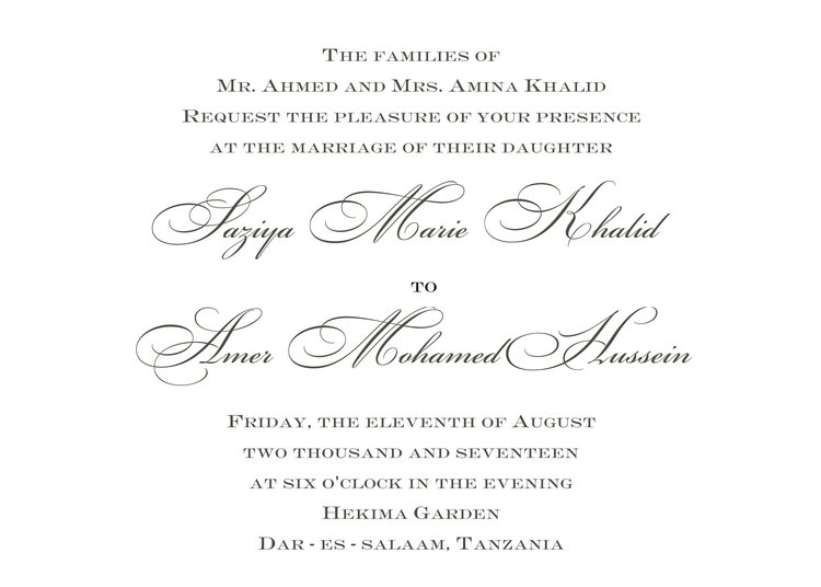 traditional wedding invitation 1 ksw exclusive invitations