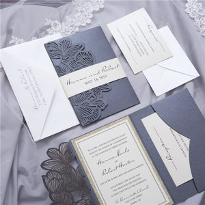 Laser cut pockets ksw exclusive invitations wpfb21203g stopboris Choice Image
