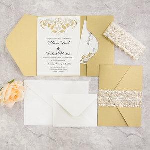 Laser cut pockets ksw exclusive invitations wpfb2116sg stopboris Choice Image