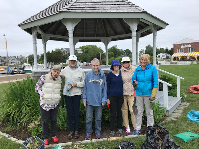 Landscaping Committee at the Gazebo