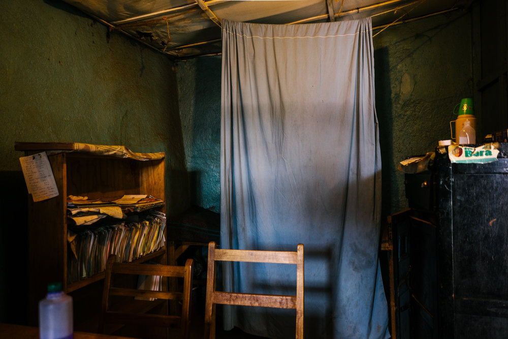 The procedure room of one reproductive health clinic in Kibera. Though the provider denied that she provided abortions, members of the community said this was a well known spot for procuring clandestine abortions.