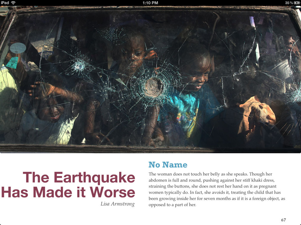 "From the e-book, ""Voices of Haiti"""