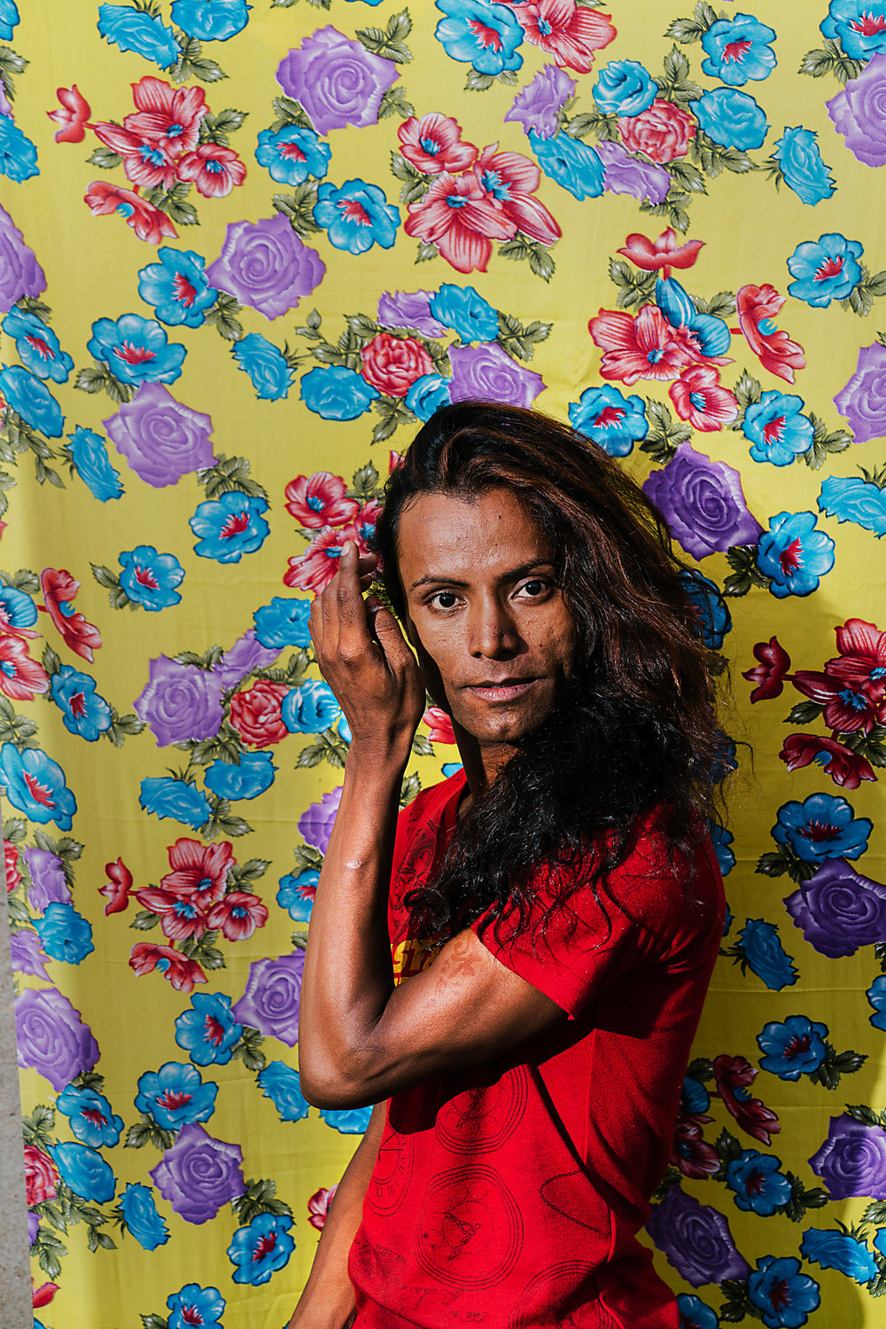 Roshni, a member of the LGBT community in Patna, Bihar state India, poses for a portrait. Patna is the capital city of Bihar State, considered one of the country�s most rural, and acceptance for the country�s LGBTQ community has been slow to arrive.