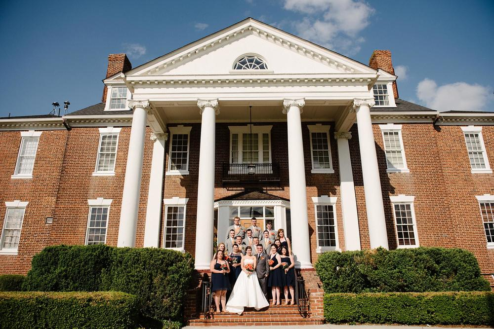 Fredericksburg Country Club Wedding Virginia Rachel Rossetti Photography_0182.jpg