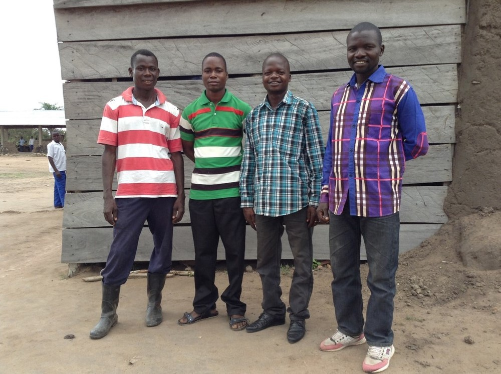 Here are four students that have benefited from the scholarship program that are contributing to the development of the Dungu community.