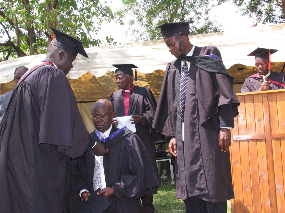 Ahero Evangelical School of Theology graduation ceremony.