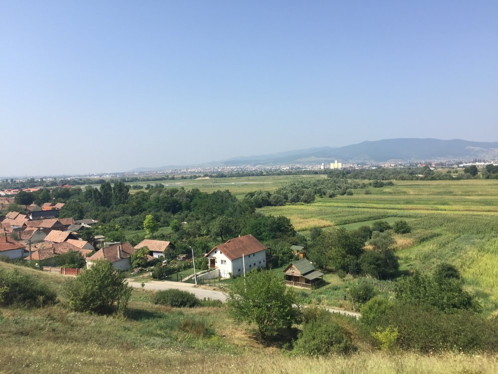 July 27 - Driving day from Romania to Ukraine