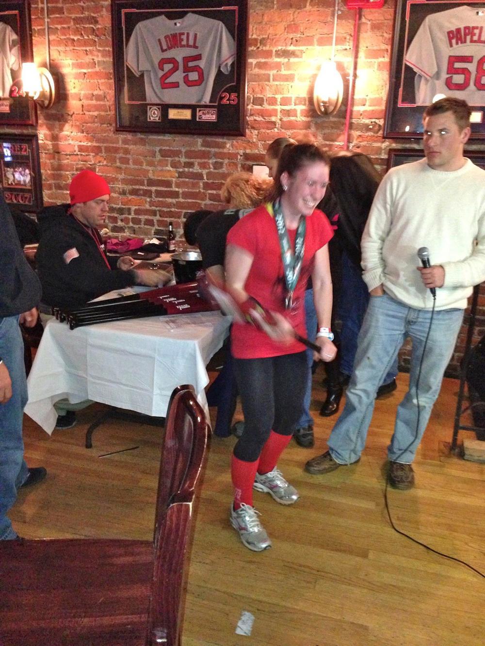 Dustin Dorough Fenway Race