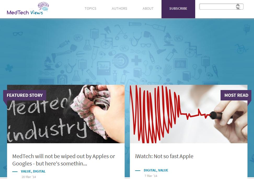 medtechviews homepage