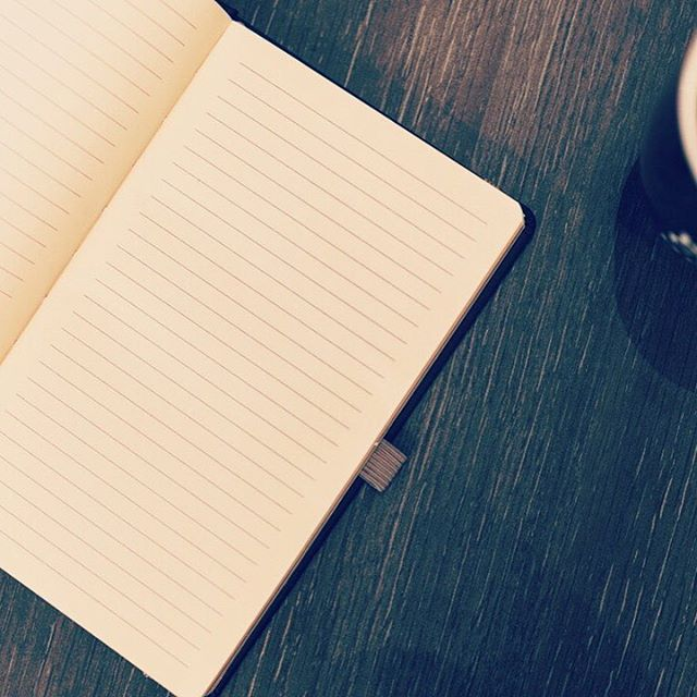 Coffee & writing: two of our favorite things. #rootscoffeehouse #writer #journal #blankpage #coffeeshopvibes #books