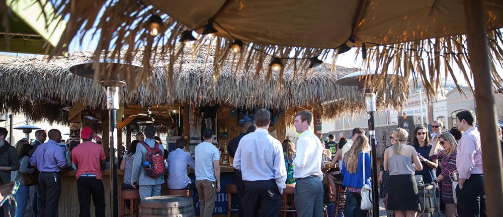 Rooftop Tiki Bar
