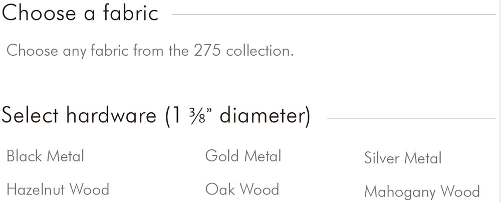 Choose Fabric, Select Hardware.jpg
