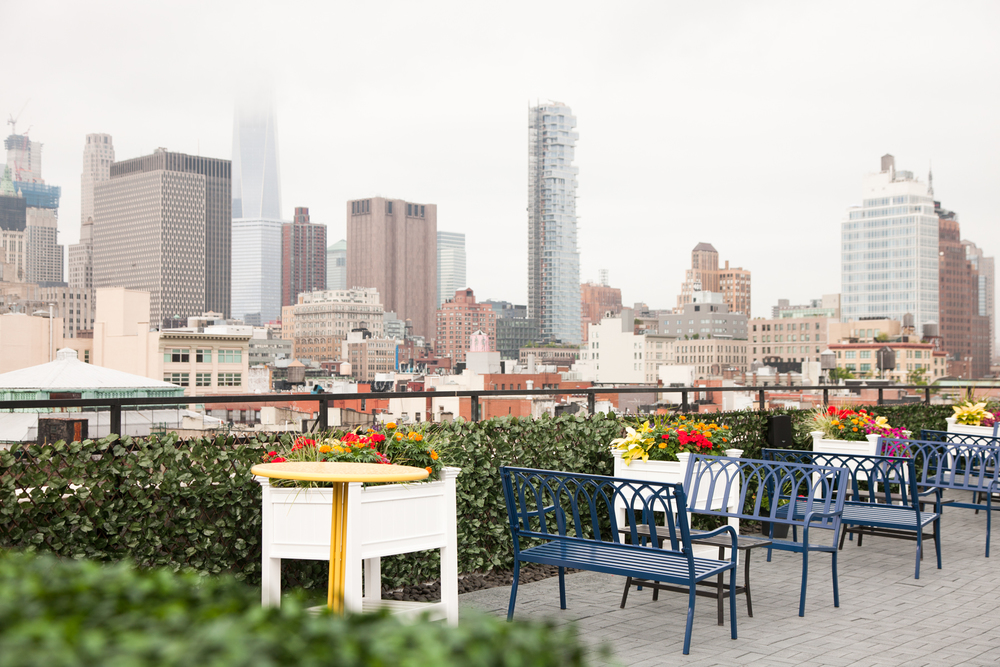Meet on Bowery - The Roof Garden