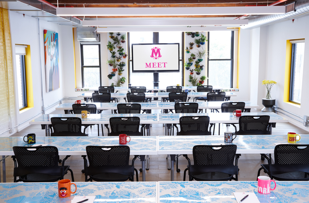 Meet on Bowery - An Energized Classroom