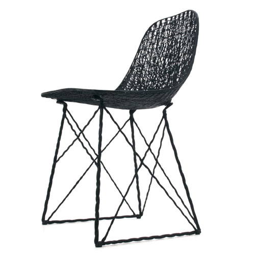 Bertjan Pot and Marcel Wanders Moooi Carbon Chair 2004 Carbon Fiber and Epoxy