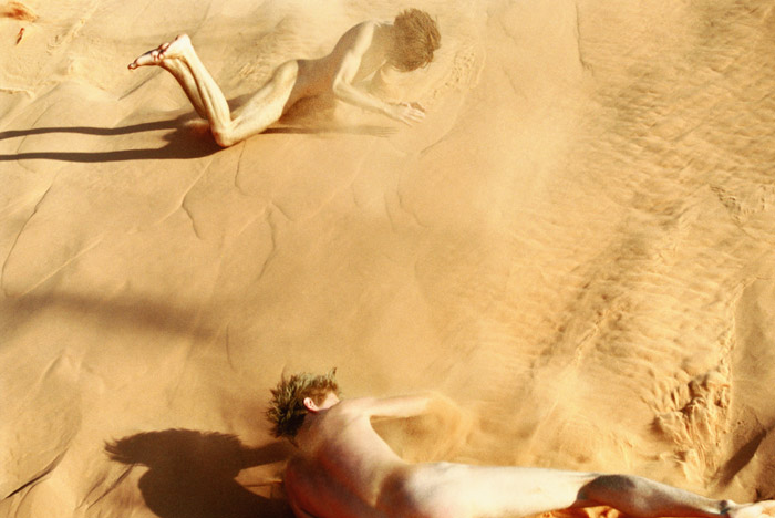 Ryan McGinley (New York) Falling (Sand) 2007  C-Print