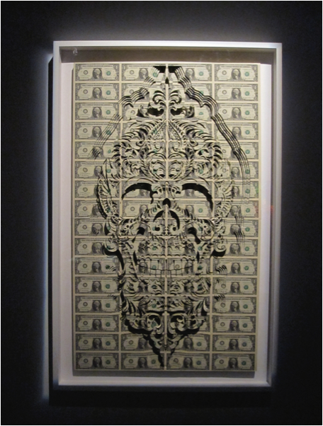 Scott Campbell   Day of The Dead  2010  Uncut Currency Sheets