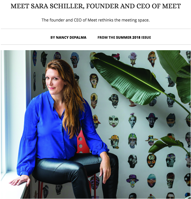 Meet Sara Schiller, Founder and CEO of Meet