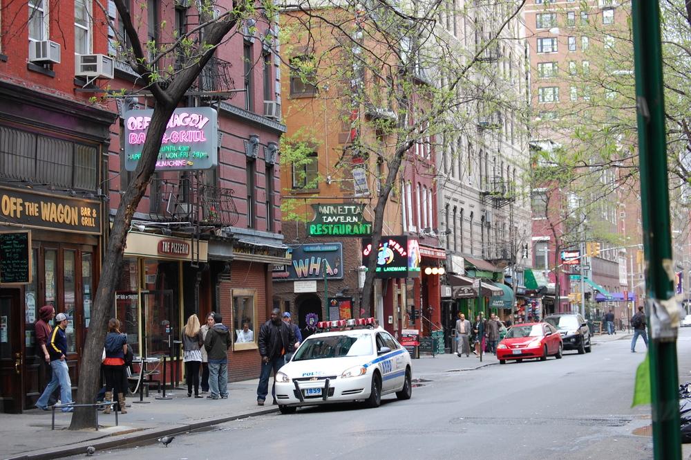 My old neighborhood in Manhattan