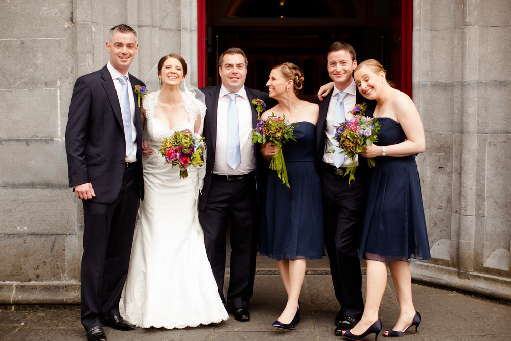 Our wedding party!