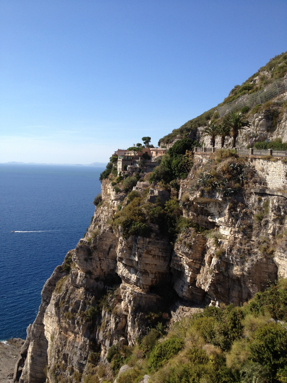 cliffs of Amalfi coast