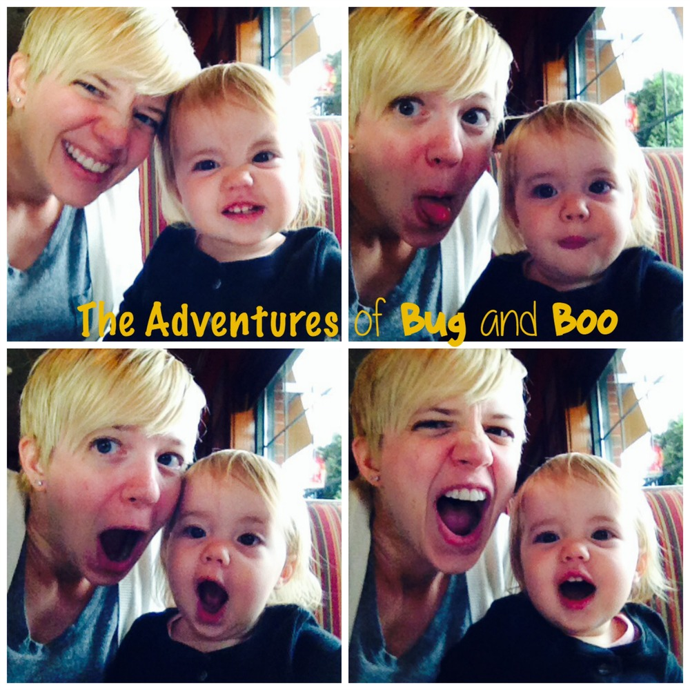 Mum & Bug selfies while waiting for our lunch!
