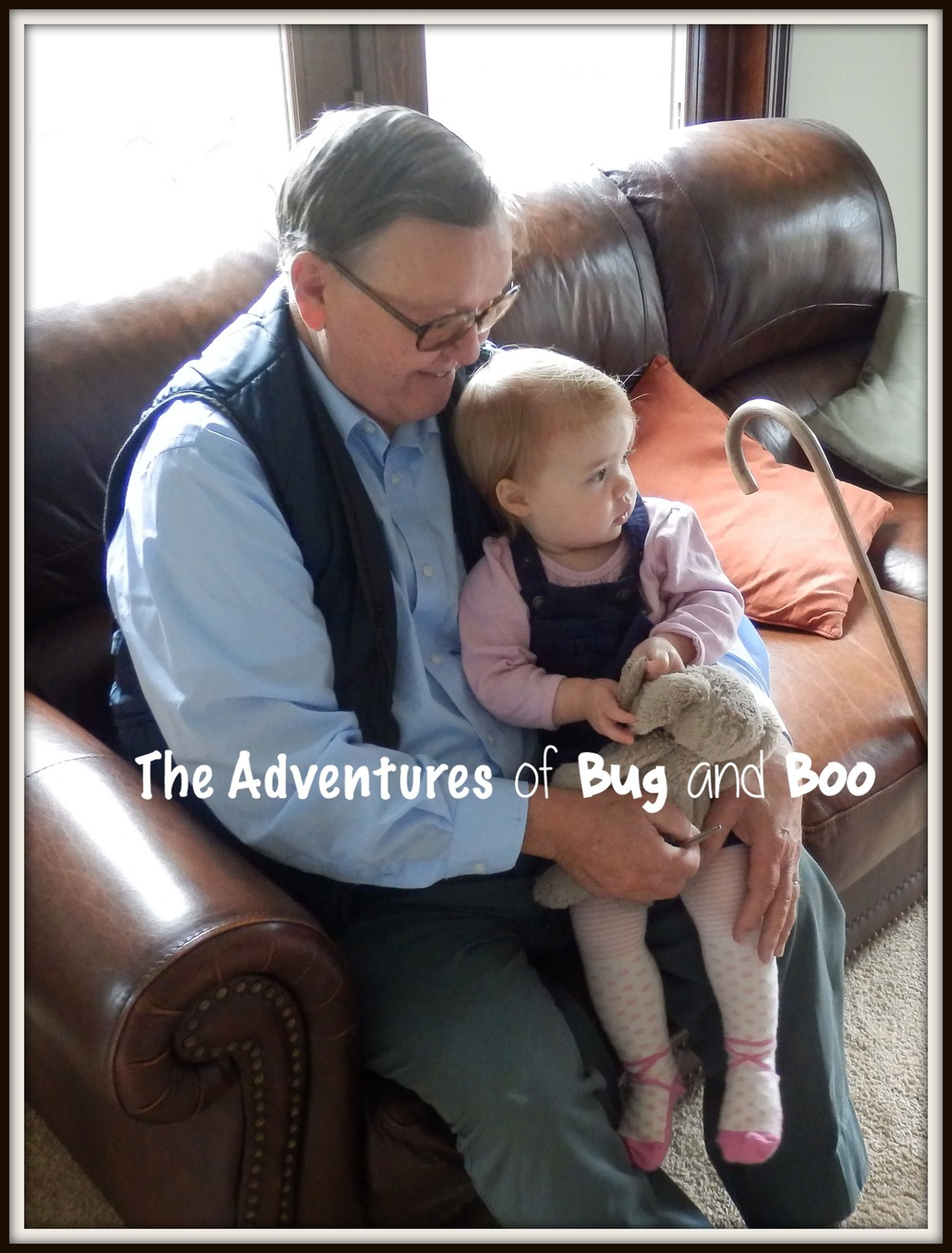 Bug and her Great-Grandpa :)
