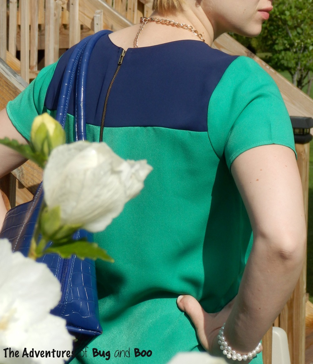 Color Blocked Dress || Adventures of Bug and Boo