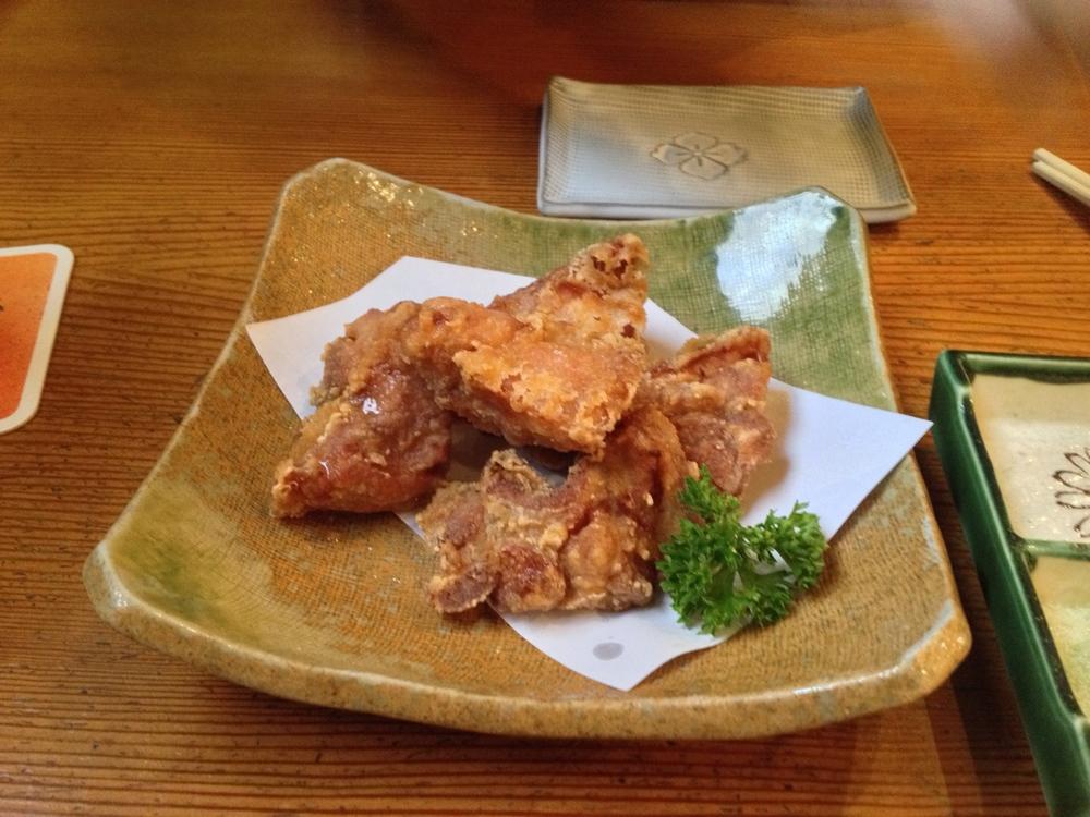 Tori-Karaage (deep-fried chicken)