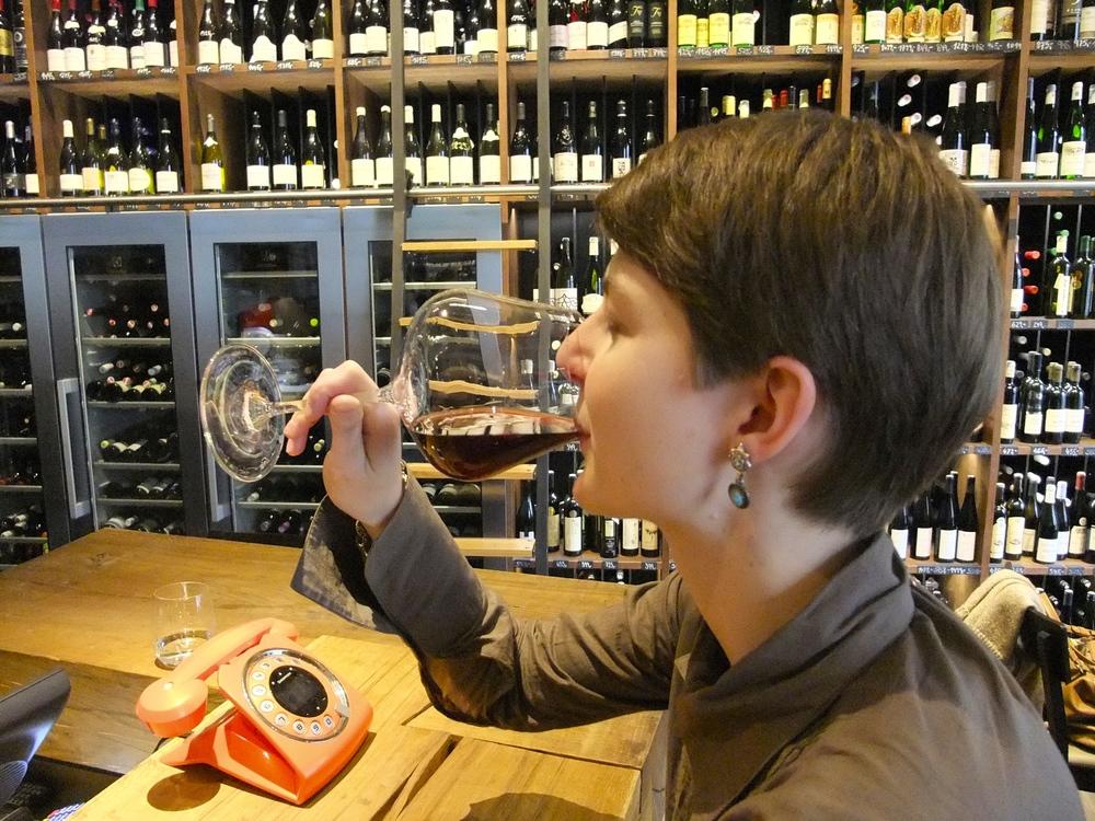 Wine tasting at Vinograf