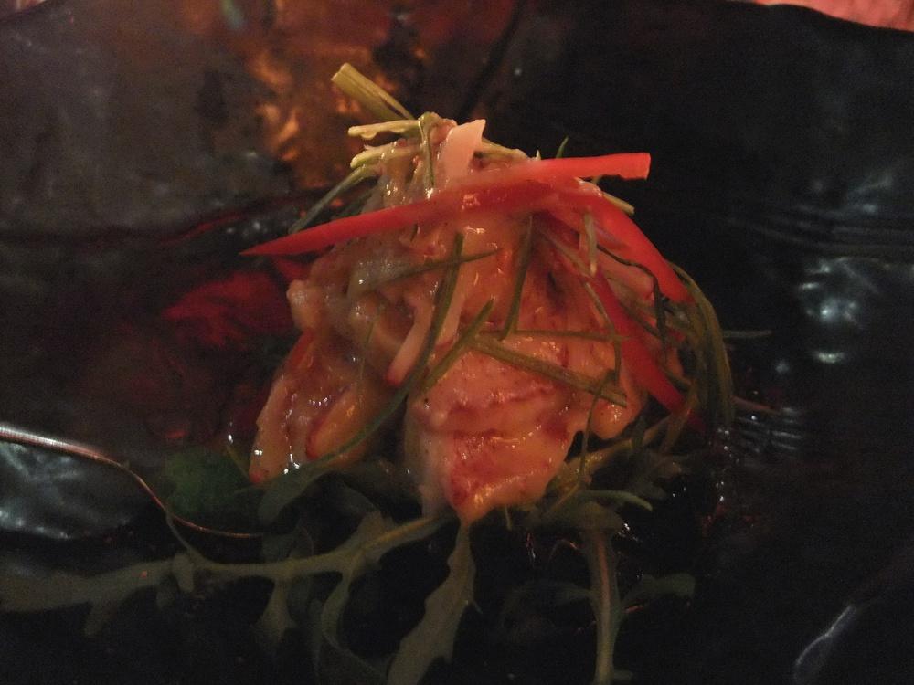 Lobster vanilla mirin at Sasazu
