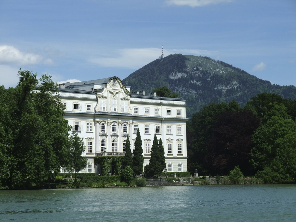 Back of the house used as the von Trapp house in The Sound of Music